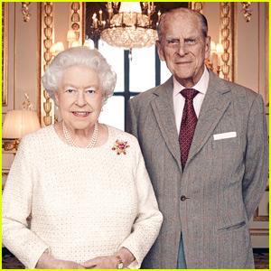 Queen Elizabeth & Prince Philip Celebrate 70th Wedding Anniversary with New Portait!