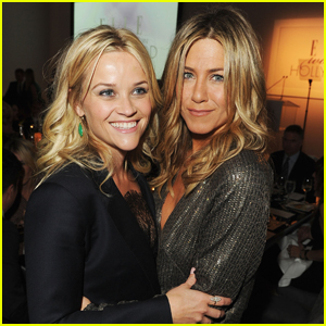 Jennifer Aniston & Reese Witherspoon Morning Show Drama Picked Up By Apple!