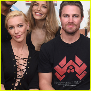 Stephen Amell Sends Condolences to Katie Cassidy After Father David Cassidy's Passing