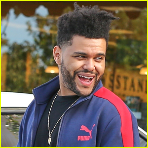 The Weeknd is All Smiles While Shopping in Calabasas