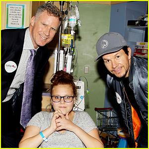 Will Ferrell & Mark Wahlberg Screen 'Daddy's Home 2' at Kravis Children's Hospital