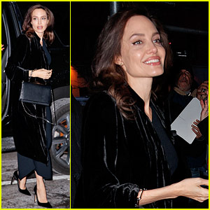 Angelina Jolie Looks Radiant While Stepping Out in New York!