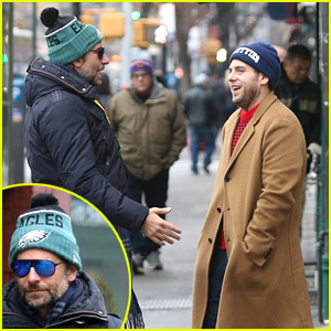 Bradley Cooper & Jonah Hill Run Into Each Other in NYC