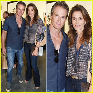 Cindy Crawford & Hubby Rande Gerber Hit Miami for Art Basel!