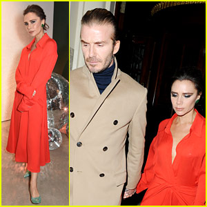 David Beckham Supports Victoria at Vogue Event at Her Store!