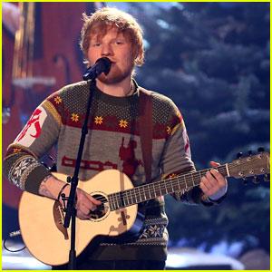 Ed Sheeran Reacts to Landing UK's Official Christmas No. 1