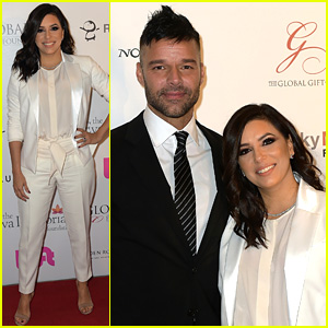 Eva Longoria & Ricky Martin Advocate for Better Tomorrows at Global Gift Gala in Miami