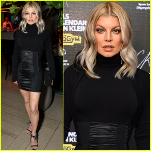 Fergie Helps Launch 'CR Fashion Book' 2018 Calender in NYC