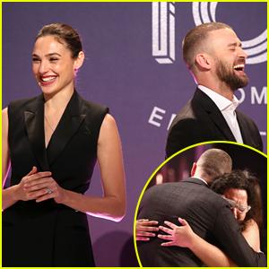 Gal Gadot & Justin Timberlake Announce First Ever 'Wonder Woman' Scholarship Winner - Watch Now!