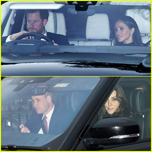 Prince Harry & Meghan Markle Get Ready for the Holidays at Their First Christmas Lunch with Queen Elizabeth II!