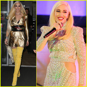 Gwen Stefani Shows Her Holiday Style While in London!