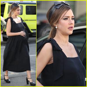 Jessica Alba Celebrates Her Baby Shower in Beverly Hills