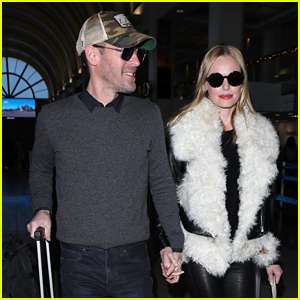Kate Bosworth Thanks Firefighters in California