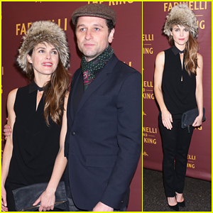 Keri Russell & Matthew Rhys Have Date Night at 'Farinelli and the King' Broadway Opening!