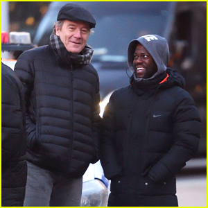 Kevin Hart Gets Back To Work on 'The Upside' with Bryan Cranston After 'SNL'!