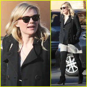 Kirsten Dunst Covers Up Potential Baby Bump While Out in LA