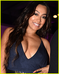 La La Anthony Looks Hot Posing in a Swimsuit in Mexico!