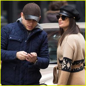 Lea Michele & Boyfriend Zandy Reich Head Out on Holiday Road Trip!
