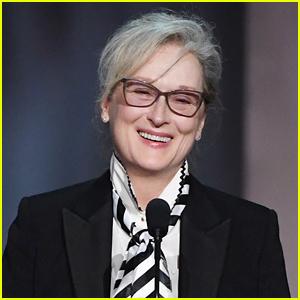 Meryl Streep Reacts to 31st Golden Globe Nomination!