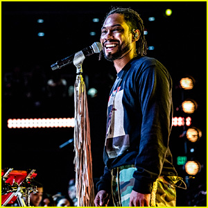 Miguel Performs New Songs at 'War & Leisure' Album Release Party in Los Angeles!
