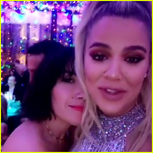 Pregnant Khloe Kardashian Wishes She Could Drink This Christmas!
