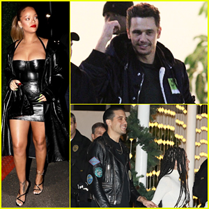 Rihanna, James Franco, G-Eazy & More Stars Attend Jay-Z Concert at The Forum!