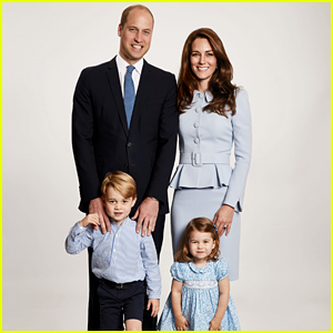 Prince William & Duchess Kate's Family Christmas Card Revealed!