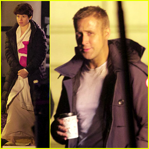 Ryan Gosling & Claire Foy Film Armstrong House Fire Scene for 'First Man'