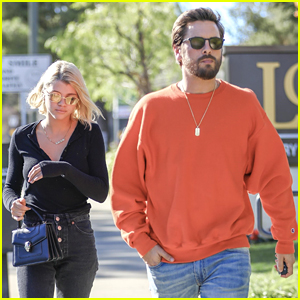 Scott Disick & Sofia Richie Enjoy a Weekend Lunch Date