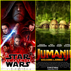 'Star Wars' Tops 'Jumanji' & Other Newcomers at Christmas Weekend Box Office