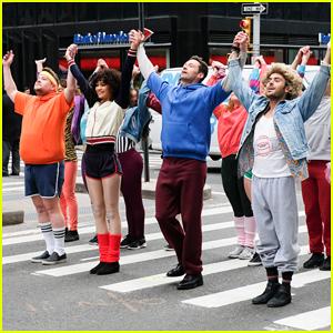 Zac Efron, Zendaya, and Hugh Jackman Join James Corden in Epic 'Crosswalk Musical' - Watch Here!