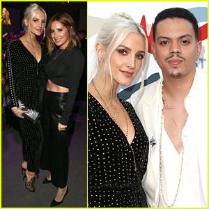 Ashlee Simpson & Evan Ross Unirse a Ashley Tisdale en los Grammy Partido de la visión