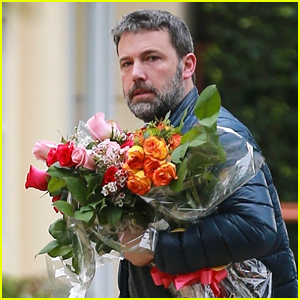 Ben Affleck Brings Flowers to Daughter Seraphina's Talent Show!
