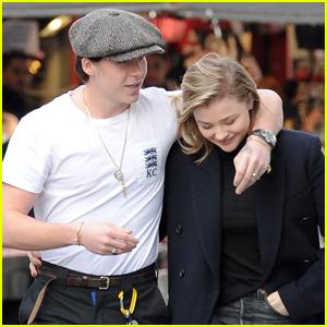 Chloe Moretz & Brooklyn Beckham Are So In Love in London!