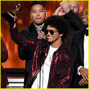 Grammys 2018: Canción del Año Va a Bruno Mars!