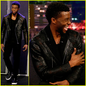 Chadwick Boseman Wants to Watch 'Black Panther' Incognito at the Movie Theater!