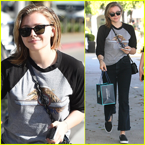 Chloe Moretz is All Smiles at Lunch in Beverly Hills