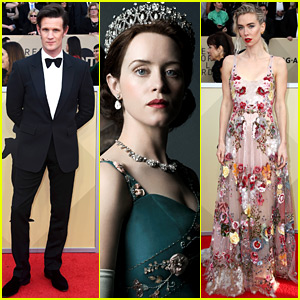 Claire Foy Wins Best Actress in a Drama Series at SAG Awards 2018!