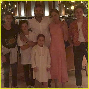 David & Victoria Beckham Celebrate New Year's Eve with Their Kids!
