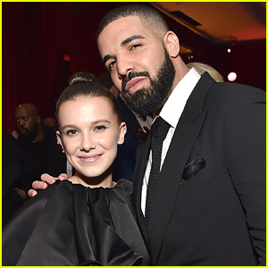 Drake Joins Millie Bobby Brown at Netflix's Golden Globes After Party!