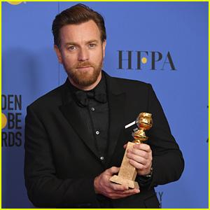 Ewan McGregor Thanks Estranged Wife Eve Mavrakis & Girlfriend Mary Elizabeth Winstead in Golden Globes 2018 Speech