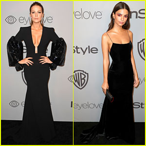 Kate Beckinsale & Emily Ratajkowski Turn Heads at InStyle's Golden Globes 2018 After-Party