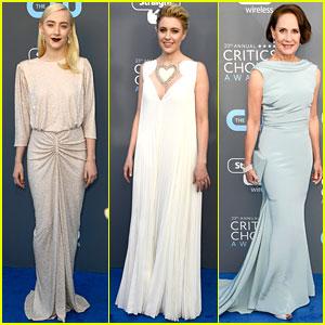 Lady Bird's Saoirse Ronan, Greta Gerwig, & Laurie Metcalf Team Up for Critics' Choice Awards 2018