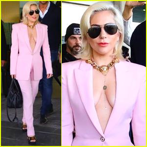 Lady Gaga Arrives in Spain Ahead of European Tour!