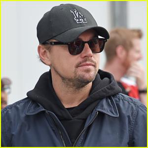 Leonardo DiCaprio Checks Out the Races in Morocco!