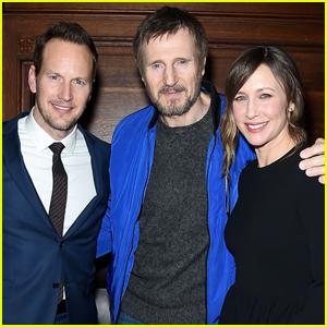 Liam Neeson & Vera Farminga Premiere 'The Commuter' in NYC