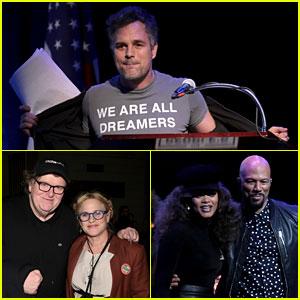 Mark Ruffalo se Une a Patricia Arquette, Andra Día, & Más Estrellas en 'la Gente's el Estado De La Unión'