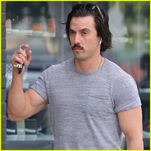 Milo Ventimiglia Muestra Su Abultados Bíceps en Hollywood