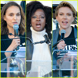 Women's March 2018 - See All the Celeb Attendees!