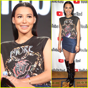 Naya Rivera Makes First Public Appearance Since Arrest at Winter TCAs 2018